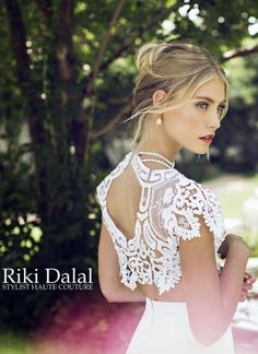 "Bringing luxury to life should be the tagline behind Riki Dalal luxury bridal wear. If feminine vibes and glamorous designs send your heart aflutter, then you'll adore Riki Dalal's new ""Provence"" Collection. A real feast for the eyes, this amazing assortment of various fabrics, ranging from silk cre"