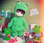 Very Green Froggie XD