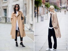 Spotted: Camel Coats