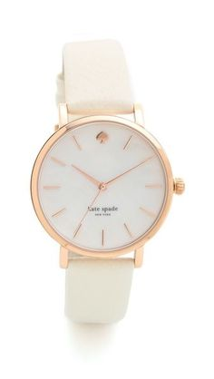 classic metro watch / kate spade new york