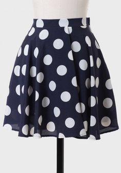 #Ruche                    #Skirt                    #Janette #Polka #Skirt    Janette Polka Dot Skirt                             http://www.seapai.com/product.aspx?PID=496911