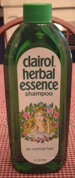 Shampoo from the 70's