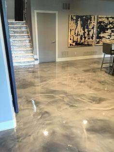 Inspirational Refinishing Basement Concrete Floor