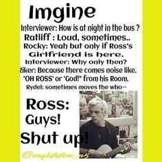 ross lynch imagine dirty - Google Search. I don't get rydels part at the end though.