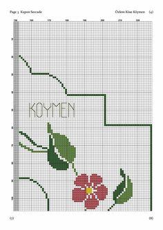 Seccade Cross Stitch Borders, Cross Stitching, Cross Stitch Patterns, Cross Stitch Embroidery, Prayer Rug, Bargello, Filet Crochet, Needlework, Erdem