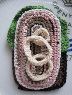 Knitting For Kids, Crochet For Kids, Crochet Baby, Knit Crochet, Crochet Food, Play Food, Easy Crochet Patterns, Crochet Accessories, Creative Kids
