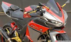Motorplus Online  - Pemilik Yamaha New V-Ixion Lightning kali ini tidak bakal kecewa jika ditandingkan dengan YZF R25 sekalipun. Tenang, maksudnya tampilannya bukan performa nya bro. Rumah modifikasi Lent Automodified (LA) asal Probolinggo, Jatim sudah keluarkan model terbar,Motorplus