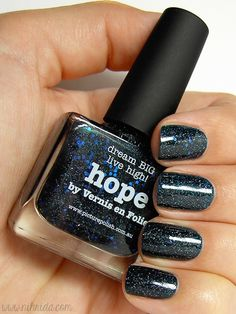 piCture pOlish 'Hope' mani creation by Nihrida!  Buy on-line now:  www.picturepolish.com.au