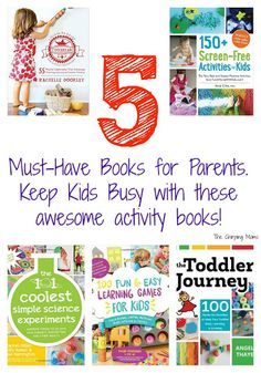 Friday Favorites:  Must-Have Books & Activities for Learning at Home. #100learninggames