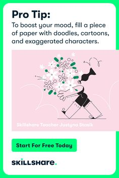 Sign up for 2 free months of Skillshare Premium and get access to thousands of classes on illustration, design, photography, and more!