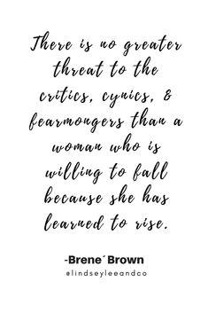 Brene Brown Quote #internationalwomensday #brenebrown