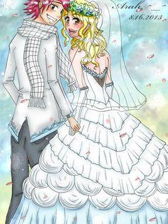 1000+ images about nalu wedding on Pinterest | Nalu, Natsu ...