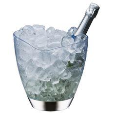 Champanheira Multiuso Brinox 2375/100 Transparente - 5 L - Baldes de Gelo no Pontofrio.com ou pote de gelo, porque eu já tenho o pegador