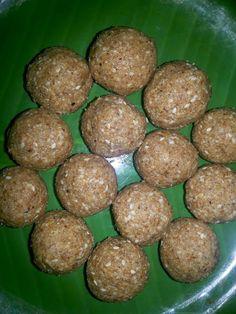 Kongu Traditional Recipes: NUTS LADDU