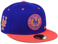 f551bc6369753 New Era New York Mets X Wilson Circle Patch 59FIFTY Fitted Cap. Open. More  information. More information. Trefoil Cap by Adidas Originals
