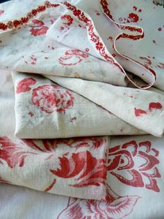 Beautiful floral fabric