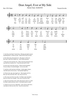 Dear Angel, Ever at My Side | MuseScore - Listen and Print the Score!