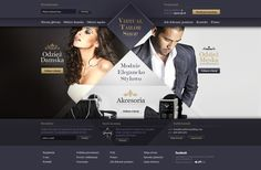 Virtual Tailor Shop by Przemyslaw Lobodzinski, via Behance