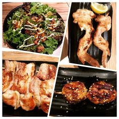 Try their authentic Japanese grilled food at Yakitori Binchotan in Lightsite Parc AS Fortuna Grilled Food, Cebu, Grilling Recipes, Restaurant, Japanese, Chicken, Women's Side Tattoos, Japanese Language, Restaurants