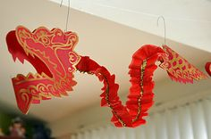 I Need a Craft Room: Firecrackers, Paper Lanterns, Balloons and a Last Minute Dragon Head