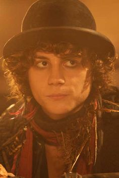 Robin de Noir (Augustus Prew) oh he look so happy doing his movie Robin, The Secret Of Moonacre, Elizabeth Goudge, Jackson Rathbone, Dominic Harrison, Human Emotions, Movie Costumes, Series Movies, Attractive Men