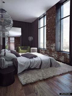 Superb Bedroom Designs With A Brick Wall Complete Home Design Collection Papxelindsey Bellcom