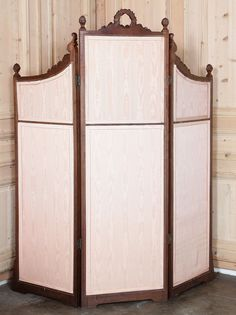 61 19th c French dressing room divider on Dressing room