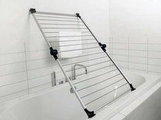 space saving racks for laundry room design