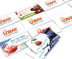 Dr. Seuss' The LORAX Memory Game printable