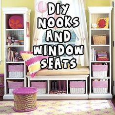 Diy nooks and Window seats