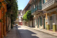 Cartagena old colonial style street Ecuador, Kid Friendly Resorts, Visit Colombia, Explore Dream Discover, Destinations, South American Countries, Worldwide Travel, South America Travel, Travel Activities