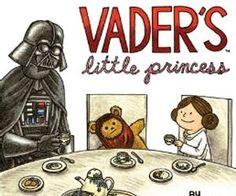 Vaders Little Princess Kids Book