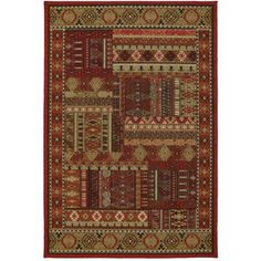 Mohawk Home Heritage Patch Area Rug