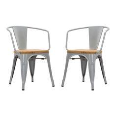 Bistro Arm Chair - Set of 2 | dotandbo.com
