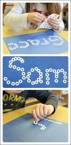 An easy to set up literacy activity the kids will love this winter! Snowball names are perfect for children learning how to write their names.