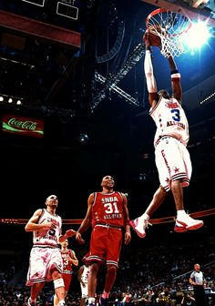Allen Iverson NBA All-Star Game Shawn Marion Steve Nash Jason Kidd
