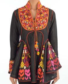 Beautiful Embroidered Tunic Is Now At www.ladyselection.com
