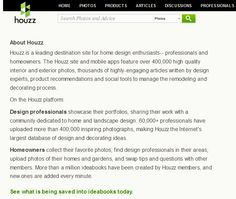 Houzz is a great site to get decorating ideas.