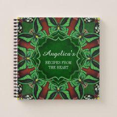 Cairns Birdwing Butterfly Recipe Notebook - office ideas diy customize special