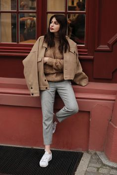 Tan coat, street style | See more like this follow @filetlondon and stay inspired.