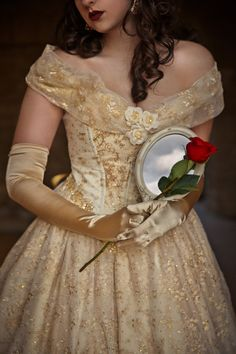 Beauty and the Beast New Style Belle Wedding by RomanticThreads