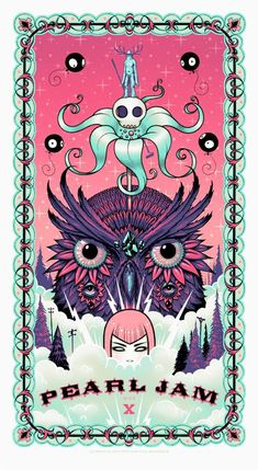 Pearl Jam, snow, skull, beautiful owl...I'm in heaven and thinking next tattoo based off this?? Hmmm