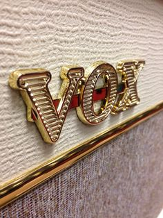 Vox amp. Photo by Anna