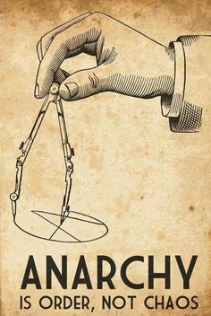 lily-lithium: I am so sick of people using anarchy as a synonym for chaos! Arte Punk, Sick Of People, Art Watch, Political Art, Political System, Illustration, Punk Rock, Art Quotes, Dumb Quotes