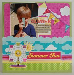 echo park summer days layouts - Google Search