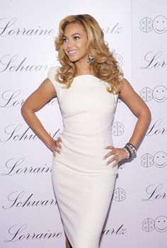 Beyonce hair for wedding!  like the dress too for reception