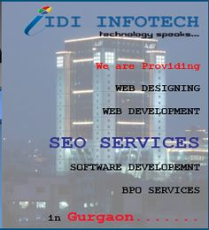 IDI Infotech is a leading SEO Company in Gurgaon,India; providers of Best SEO, Top SEO Services, Good and Professional Search Engine Optimization Services. Seo Packages, Best Seo Company, Best Web Design, Seo Services, Search Engine Optimization, Web Development, Software, India, Technology