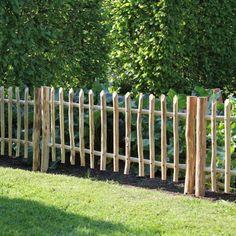 Perennial support Knick-Nix - 85 cm - Chestnut Fence Elements Informations About Staudenstütze Knick-Nix – 85 cm Pin You can easily use - Backyard Shade, Backyard Fences, Garden Fencing, Backyard Landscaping, Farm Fence, Landscaping Ideas, Wood Fence Design, Diy Fence, Fence Art