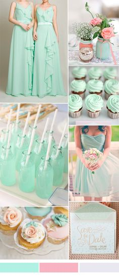 mint bridesmaid dresses 2015 for mint inspired wedding