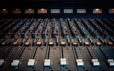 Download wallpapers sound panel, control panel, sound recording studio